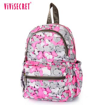 ViViSECRET kindergarten kids backpack school bag China wholesale book bags  teen school bag for kids