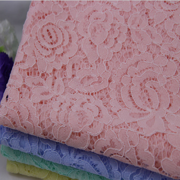 new design high quality nylon GPO lace fabric for ladies/garment wholesale