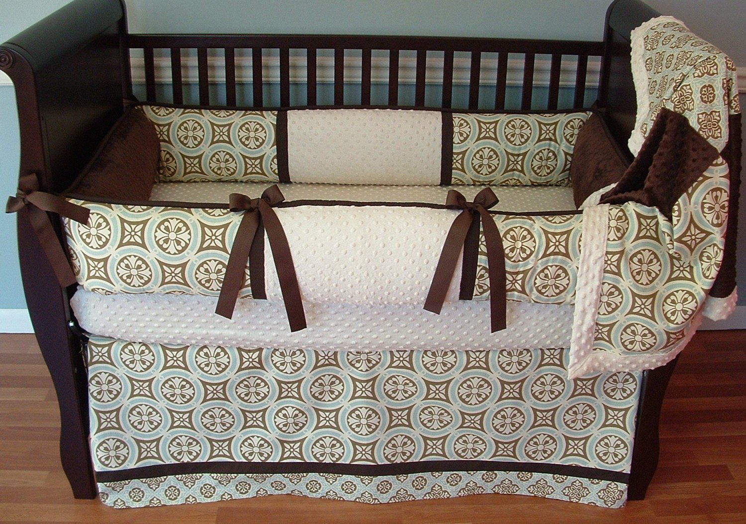 Modpeapod Minton Breathable Baby Bedding Set