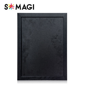 "16"" x 12""/40 cm*30 cm Chalkboard blackboard for Home, School, and Office - Wood Frame"