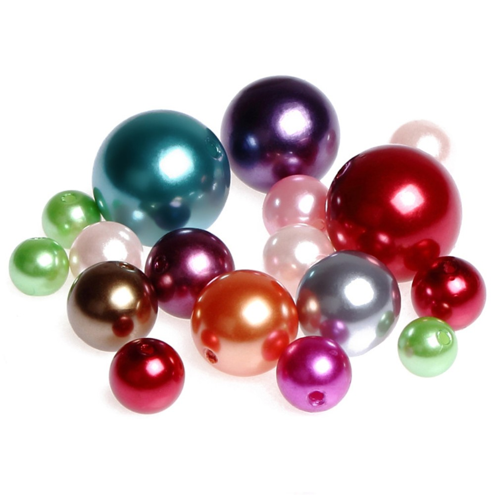 bulk faux pearls with hole for diy crafts buy faux
