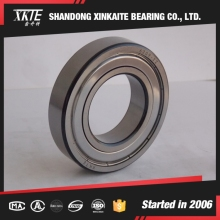 shandong china manufacture XKTE brand back corner metal seals 6209ZZ deep groove ball bearing with high quality