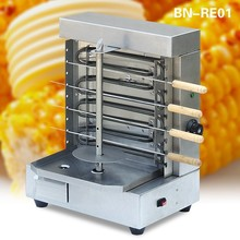 Electric doner kebab making machine, mini grill kebab machine