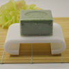 hotel amenities bathroom accessories plastic white acrylic soap dish
