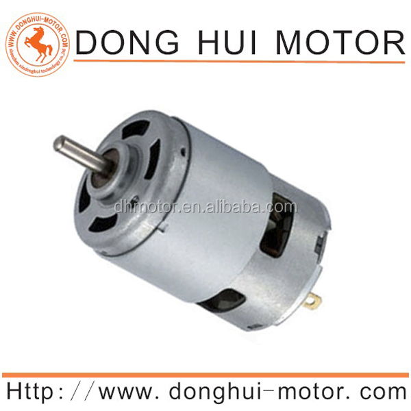 Durable life electric motor wheel chair Carbon Brush dc motor 9.6V electric bike 12v dc motor