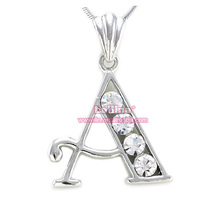 <span class=keywords><strong>문자</strong></span>발송 & # A 석 펜 던 트 Necklace Crystal Custom 모노그램 펜 던 트