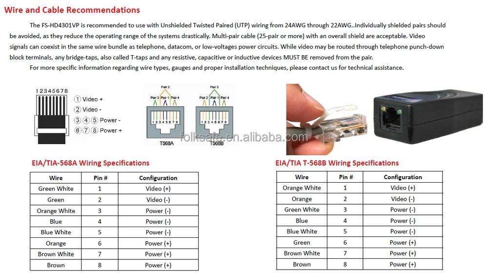 video transmitter and receiver circuit diagram rj45 video video transmitter and receiver circuit diagram rj45 video converter hd tvi cvi ahd cvbs rj45 power
