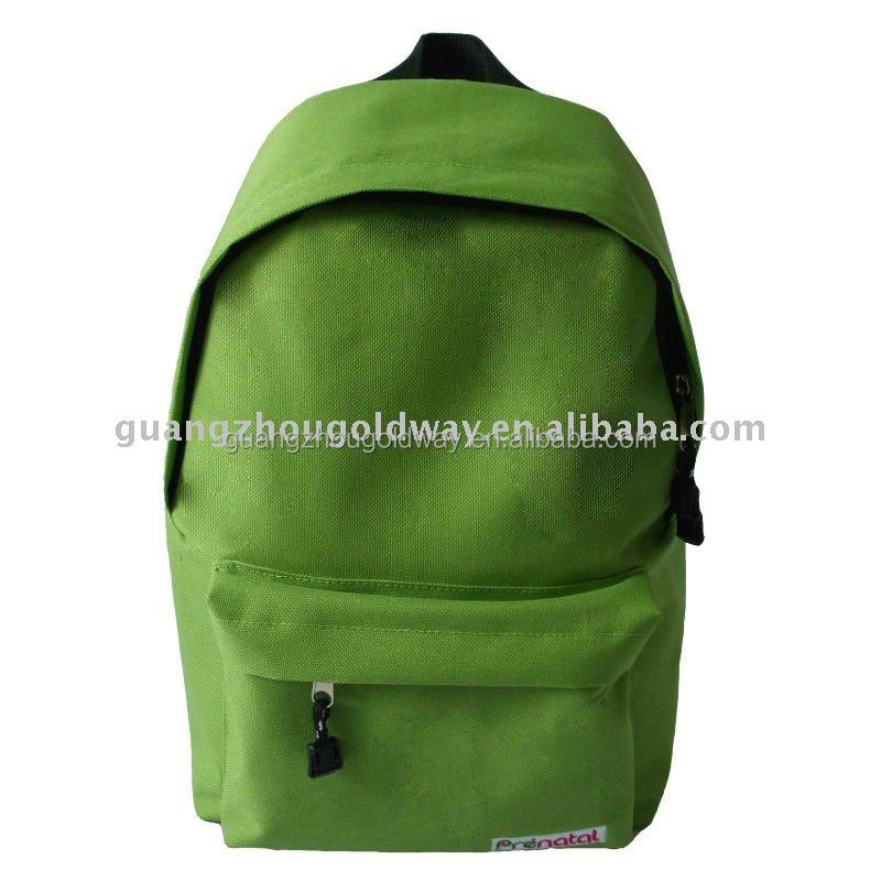 promotional polyester 600D student school leisure backpack