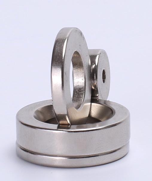 Magnet With Circular Rings For Salvage