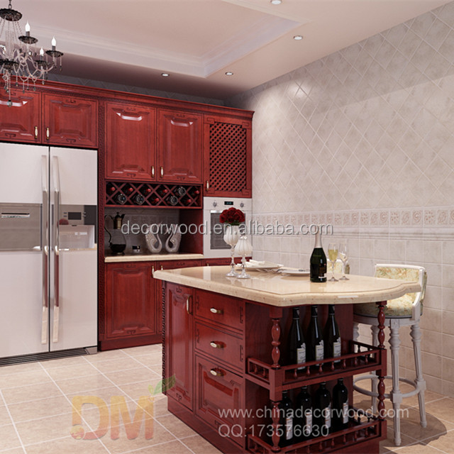Classical Wooden Carvings Red Kitchen Cabinet With Corbels - Buy Wooden  Carvings Kitchen Cabinet,Classical Kitchen Cabinet,Wooden Carvings Kitchen  ...