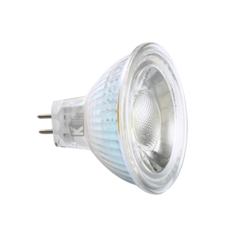factory CE ETL glass 5W COB 12V dimmable mr16 gu5.3 led bulbs
