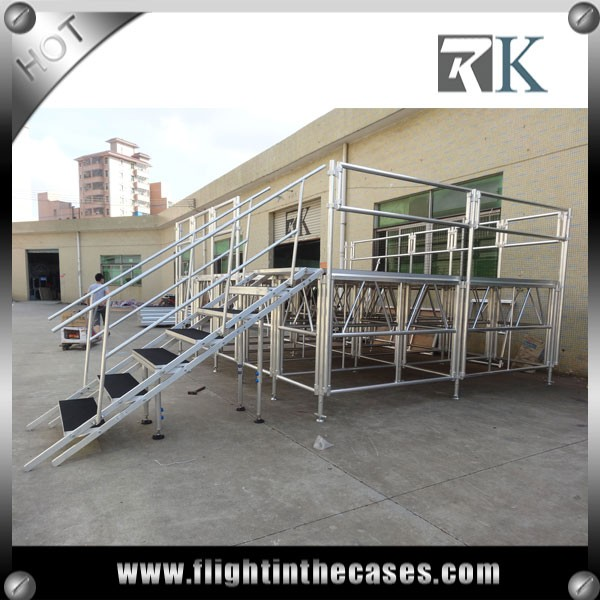 RK aluminum tailer decking event stage designMobile Stage for sale