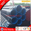 2016 Tianjin Best price ASTM A53 BS 1387 Oiled painted beveled grooved erw water gas liquid welded black steel pipe