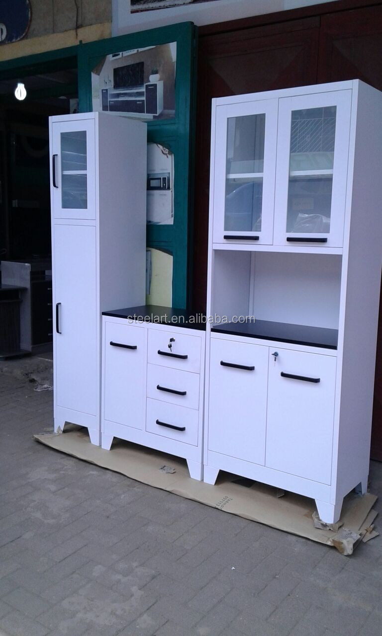 Professional Home Furniture High Metal Kitchen Wall Hanging Cabinet Pantry Cupboard Buy