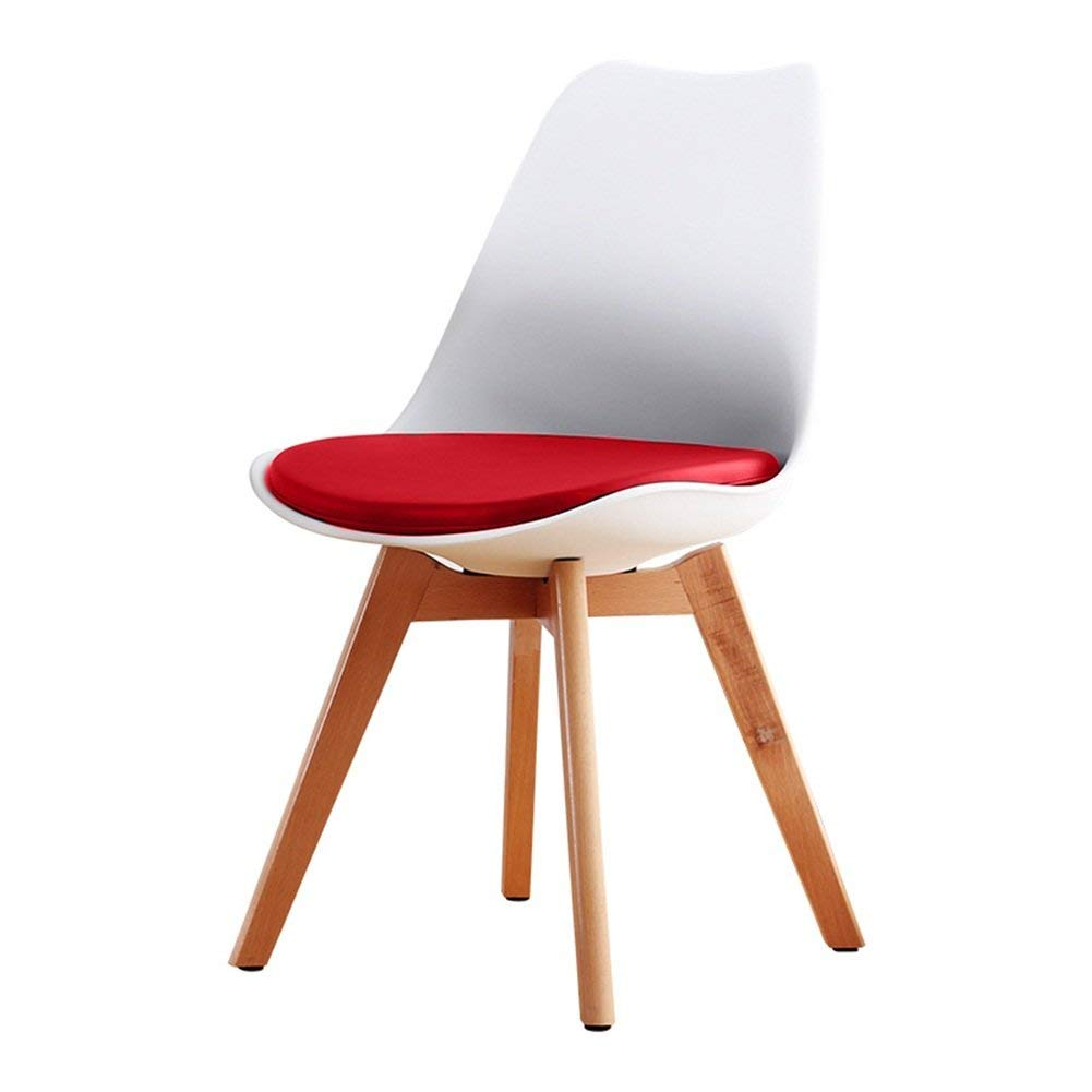 LQQFF Fashion Dining Chair, Wood Backrest Chair Business Talk Chair Cafe Chair - Dining Chair (Color : X)