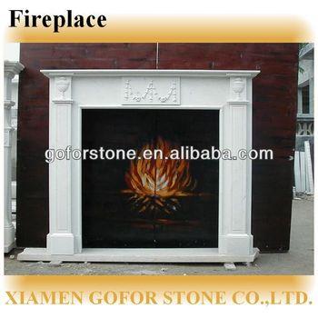 Hot Product MantelView Goforstone Sale Indoor Fireplace Freestanding Mantel 92DEHI