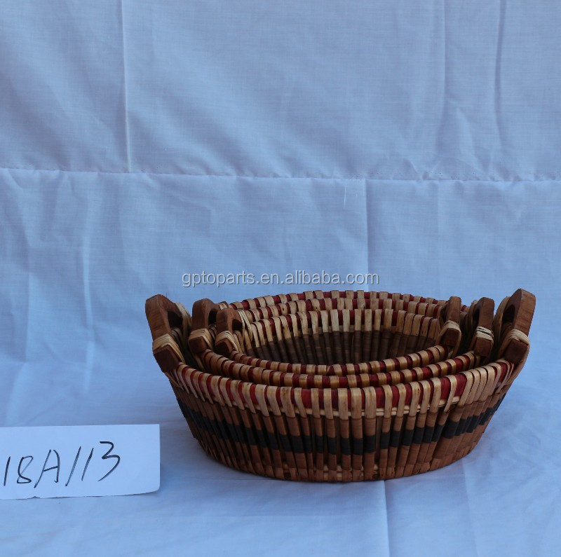 2019 kitchen home house handmade Storage Bags willow basket
