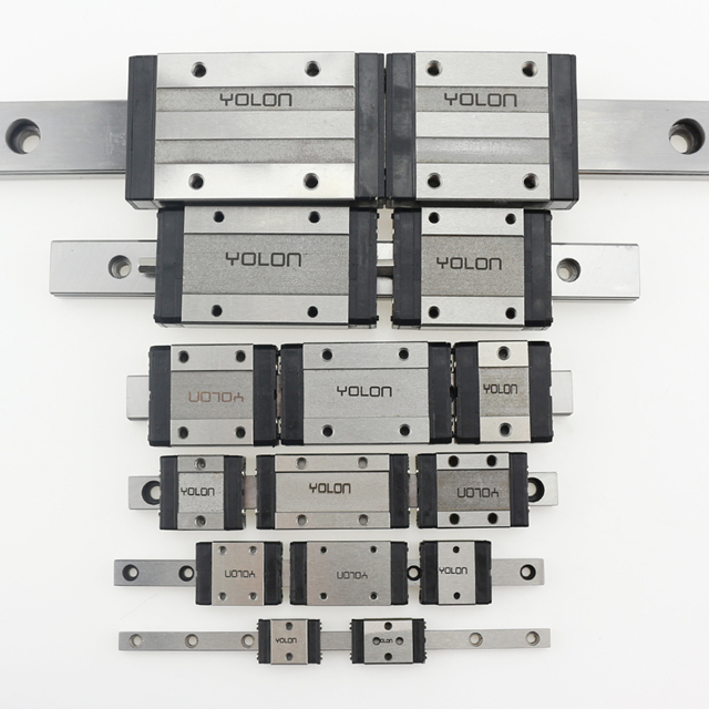 mini linear guide rail YGN / MGN5C MGN7C MGN9C MGN12C MGN15C MGN7H MGN9H MGN12H MGN15H YGN20C 3D Printer Parts Replace HIWIN