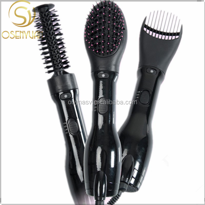 Hot selling Multifunctional Styler Tools Rotating Electric hot air hair dryer brush