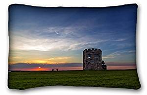 Generic Baby Boys' Landscapes sunset field bench Size 20x30 Inches