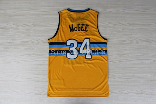 Gold JaVale McGee Authentic Alternate Jersey NBA Denver Nuggets 34 Mens  Adidas Adidas89603 Denver 34 JaVale McGee Jersey 12bd735b7