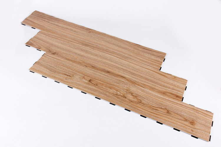 Anti Scratch Interlocking Removable Wood Texture Non Slip
