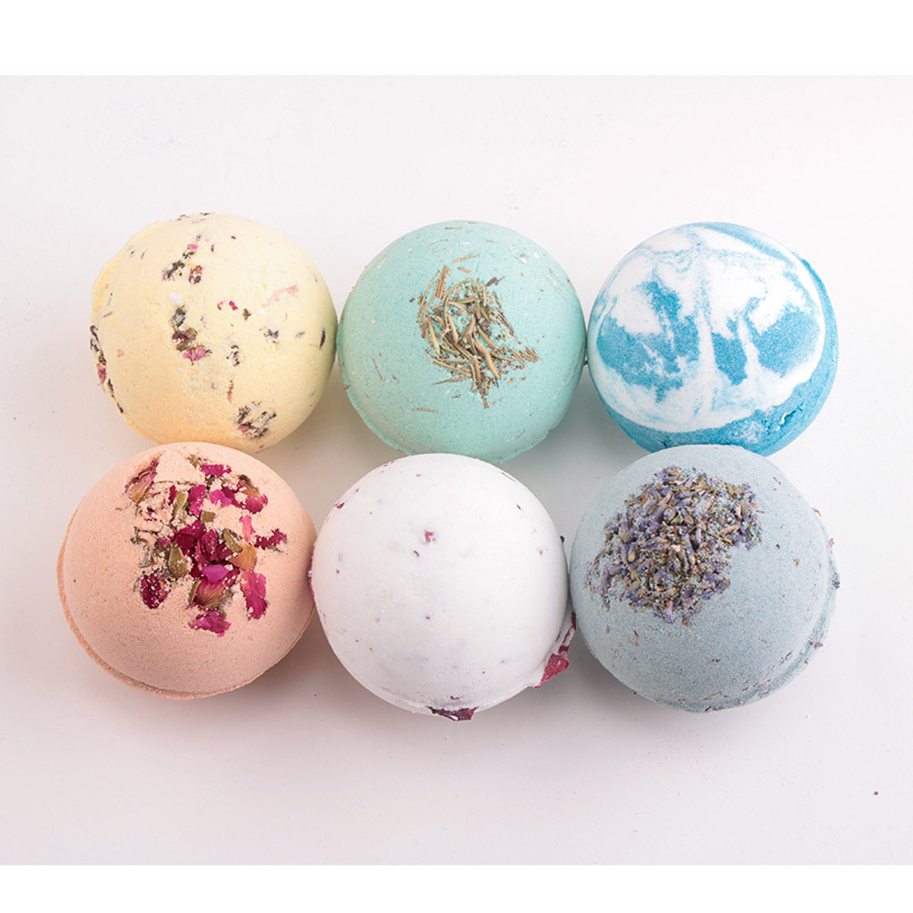 MAICA14 Badesalz Reine natürliche Mineralstoffzusammensetzung Deep Sea Body ätherisches Öl Badekugel Natural Bubble Bath Bombs Ball Dropship