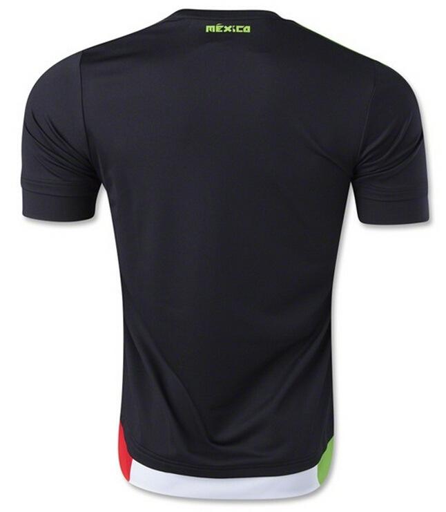 Get Quotations · Copa America Mexico Jersey DOSSANTOS 15 16 WHITE BLACK Mexico  Soccer Suit 2015 Mexico Football Soccer 3a259f18e
