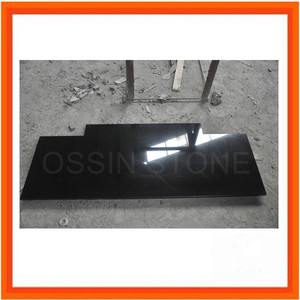 High Quality Natural Black Granite Hearth Fireplace Hearth