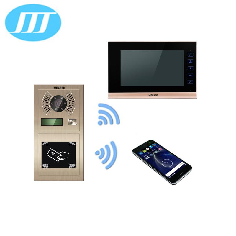 SIP IP Wifi video door phone doorbell intercom support mobile phone APP