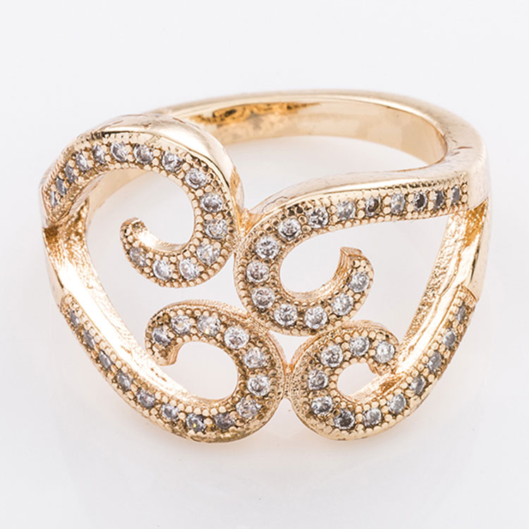 new design dubai gold engagement rings gold design for girls, View ...