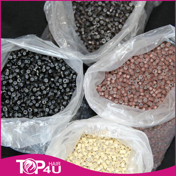 Hot Sale Factory Price Best Quality micro beads with silicone for hair extensions