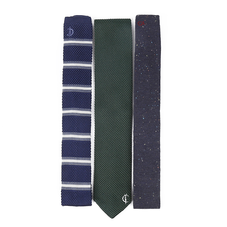 Diseño personalizado de buena calidad del lazo hecho punto flaco ...