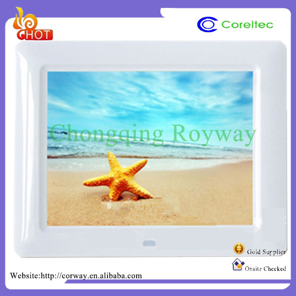 High Resolution 1366*768 Light Backlight Multifunction Bluetooth Wifi TFT Wall Mount Photo Picture Frame