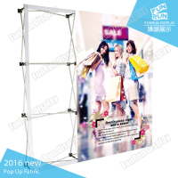 Pop up banner display stand fabric Easy