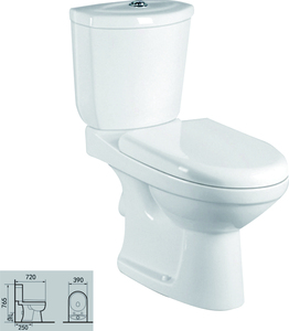 sanitary ware ceramic wc toilet washdown p trap two piece toilet china supplier s trap cheap toilet on sale