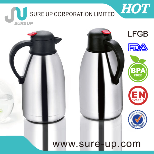 Factory color box packaging stainless steel vacuum flask 2.0L (JSUN)