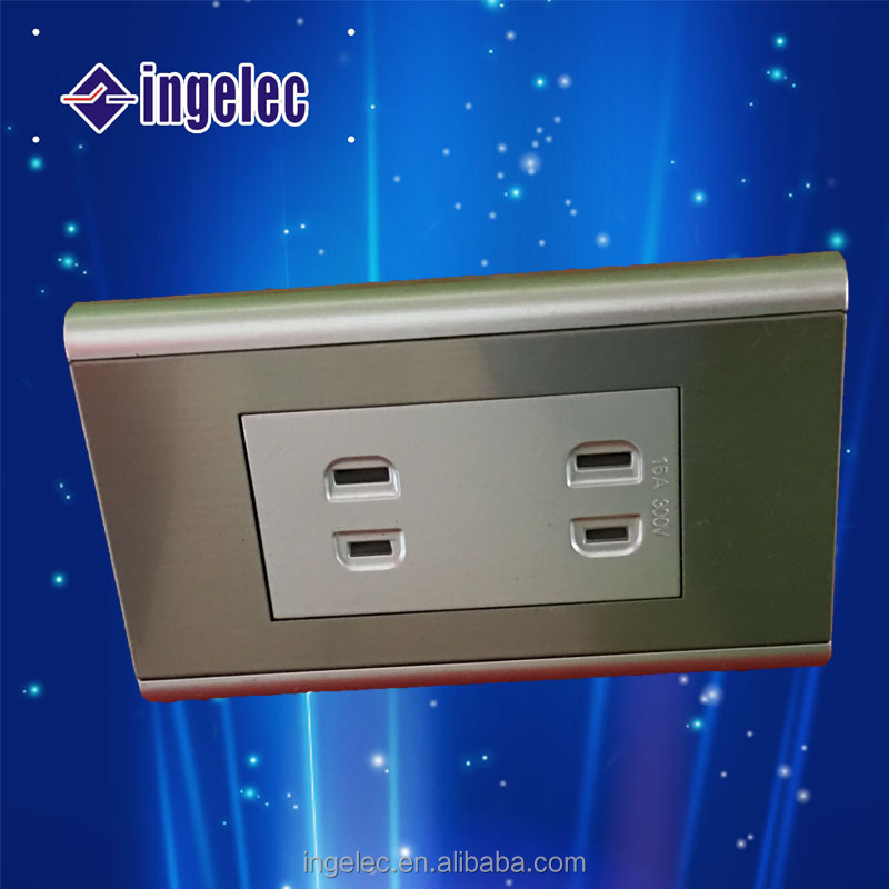YiWu No.1 new design coloured sockets and switches wall switch and socket brand