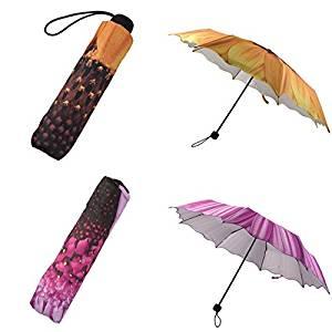 Brend New!!! 2017 Women Fashion Portable Sunflower Folding Travel Anti UV/Rain/Sun Umbrella -- HOT SALE!!!