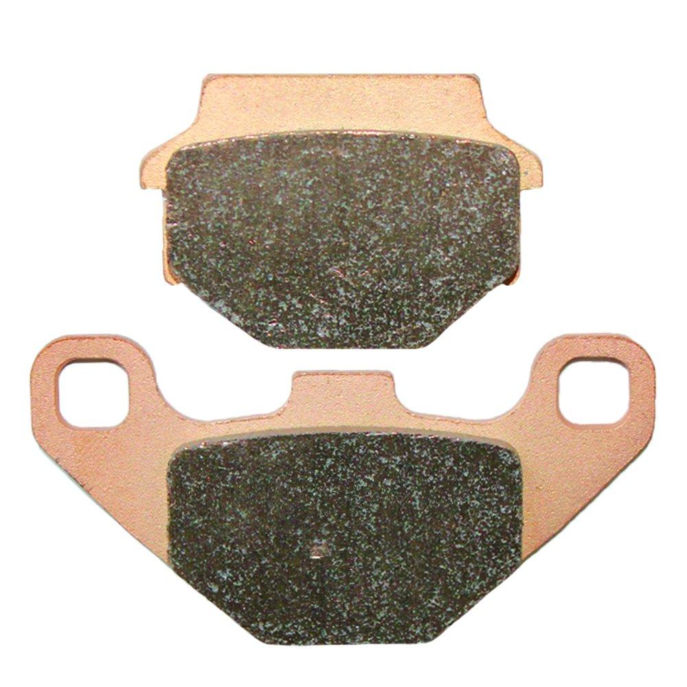 Caltric FRONT BRAKE PADS Fits KAWASAKI KL250 KLR250 KLR-250 1985-2005 FRONT BRAKE PADS