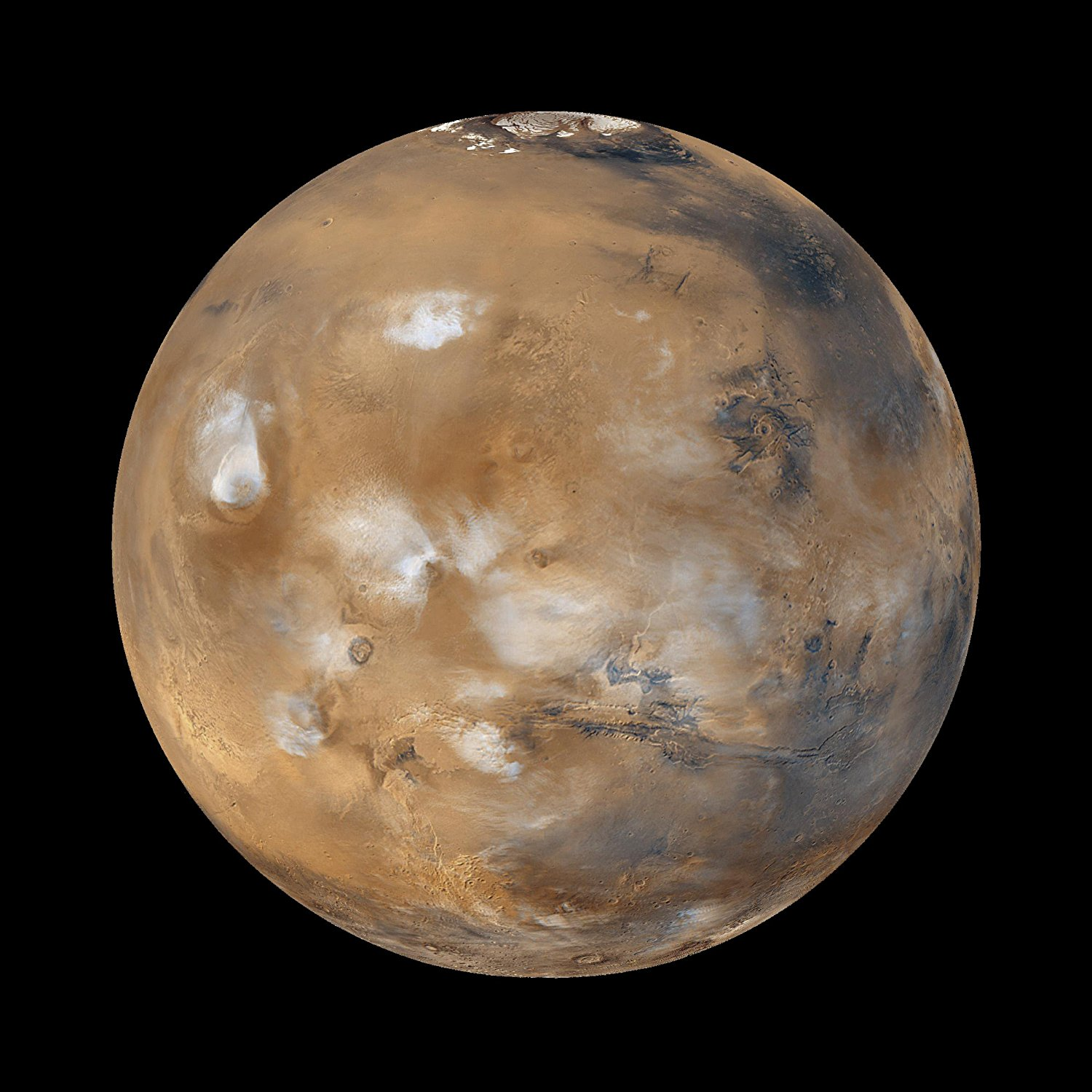 Planet Mars NASA Solar System 8 x 10 Photo Picture
