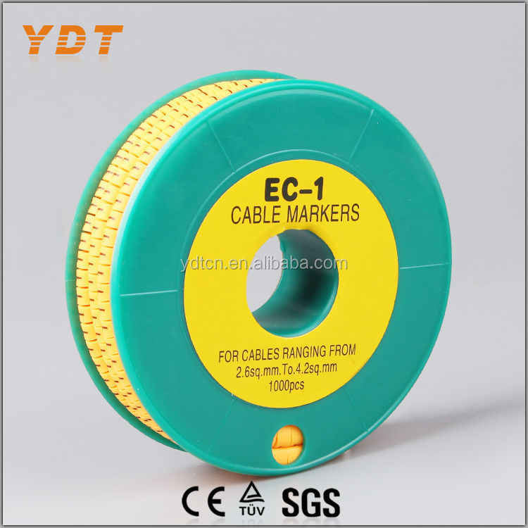 YDT EC-1 Cable Markers