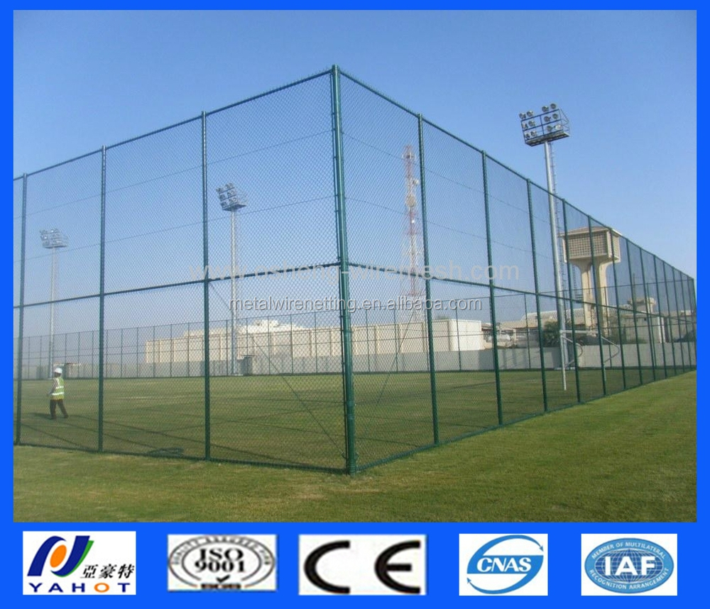 Sport Boden Pvc Beschichtet Maschendrahtzaun - Buy Product on ...
