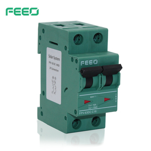 Free Samples! Best Quality IEC60947 FPV-63 1P 2P 3P 4P 10A 16A 20A Electrical Type 12V 1000V MCB Mini DC Circuit Breaker