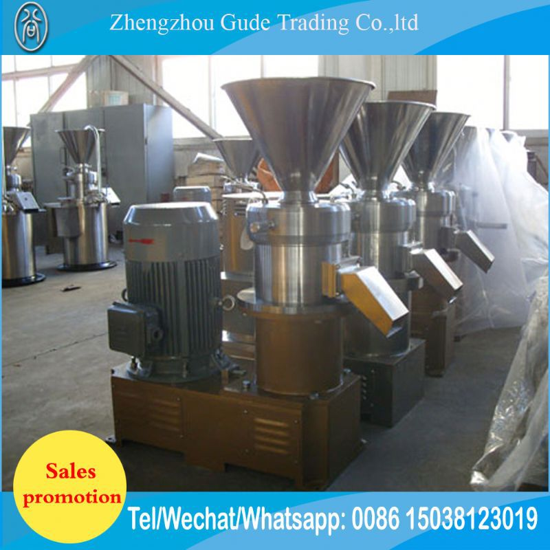 Industrial Peanut/Sesame/Soyabean Grinding Machine Tomato Jam Red Bean Paste Making Machine