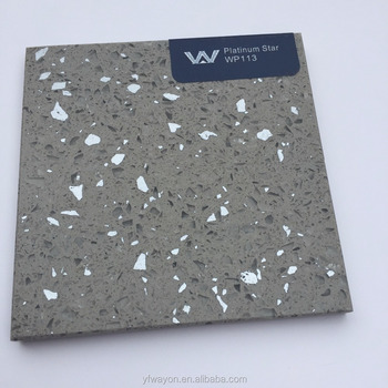 Metal artificial quartz stone slab/countertop/vanity top/tile (WP113)
