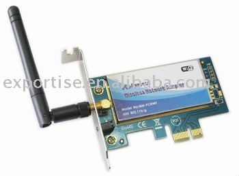 IEEE 802.11 b/g Wireless PCI Express Network Adapter