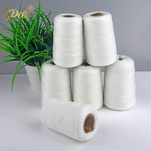 White Eco-Friendly Polyester Cords Twisted Ropes High Quality Cotton String For Garment