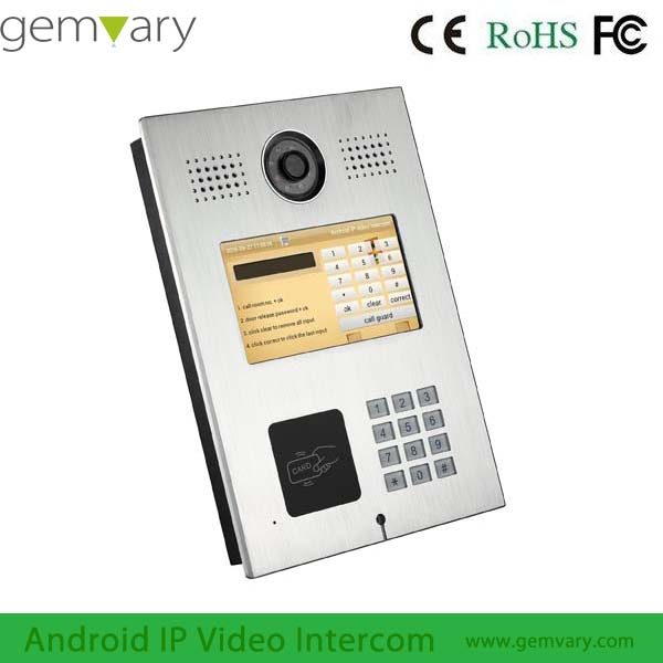 Gemvary Multi Apartment Video Intercom Systems For Apartments - Buy ...