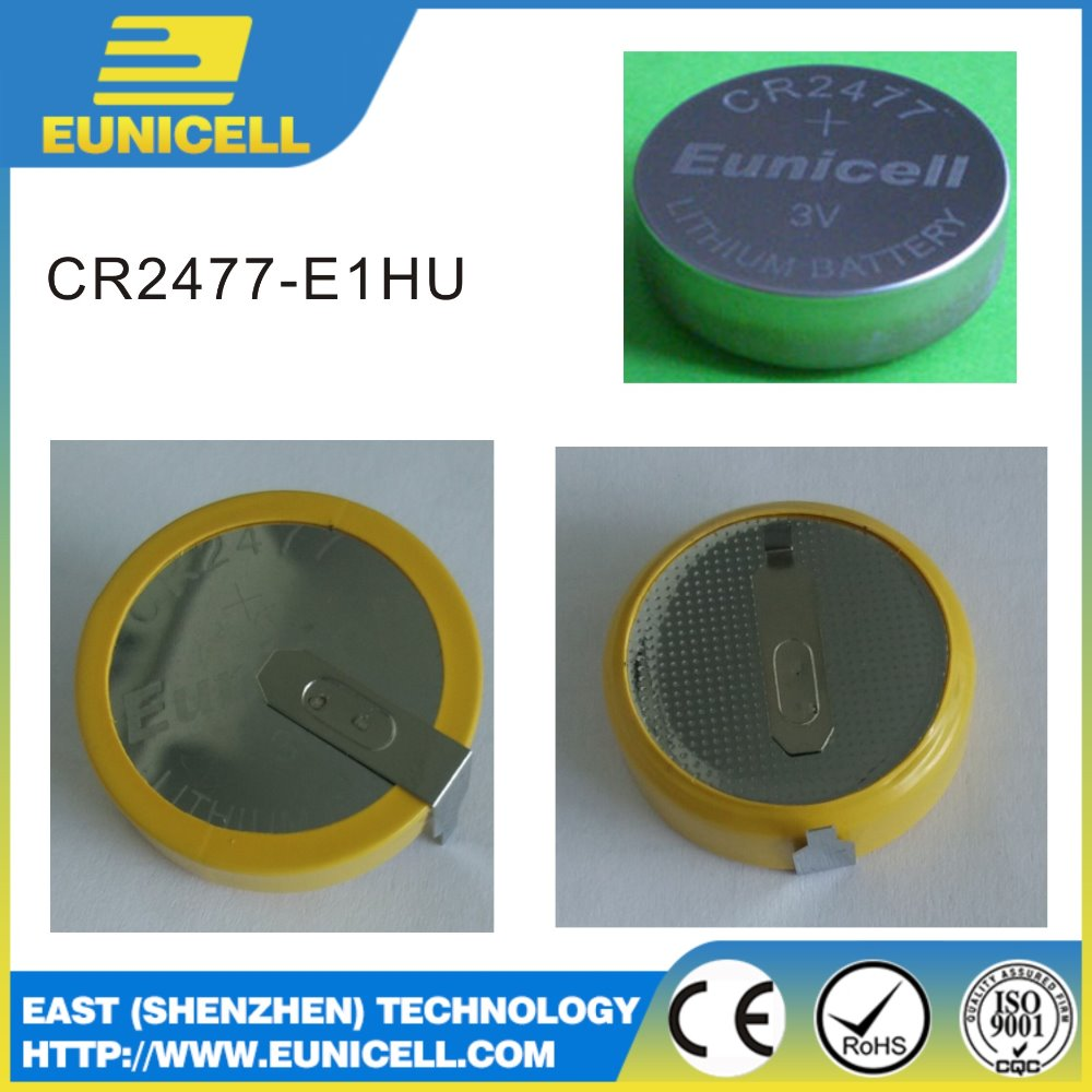 lithium battery 3v CR927 Coin batteries with solder tabs